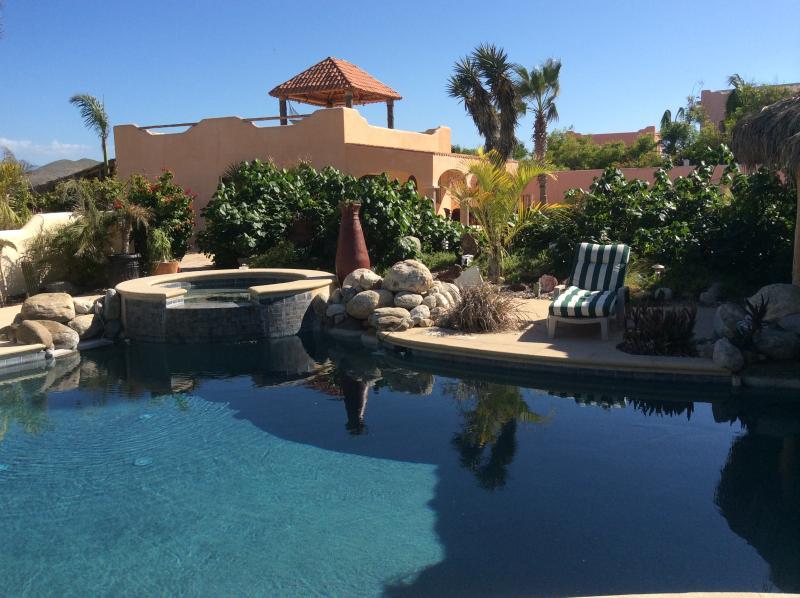 Pool with your casita in background - Baja Beach Getaway - Todos Santos - rentals