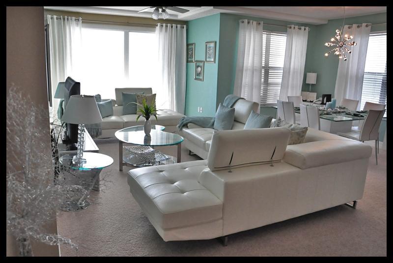 Alternate living room view - Fall $pecials - Opus Condominium #504 Ocean Front - Daytona Beach - rentals