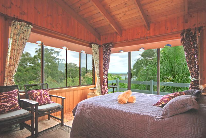 panoramic views from all the rooms - Marazul Paradise Beach House  Jervis Bay Vincentia/ - Vincentia - rentals