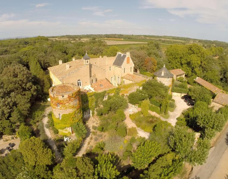 Hermitage de Combas castle in south of france - Charming apartment in mediterranean castle tower - Servian - rentals