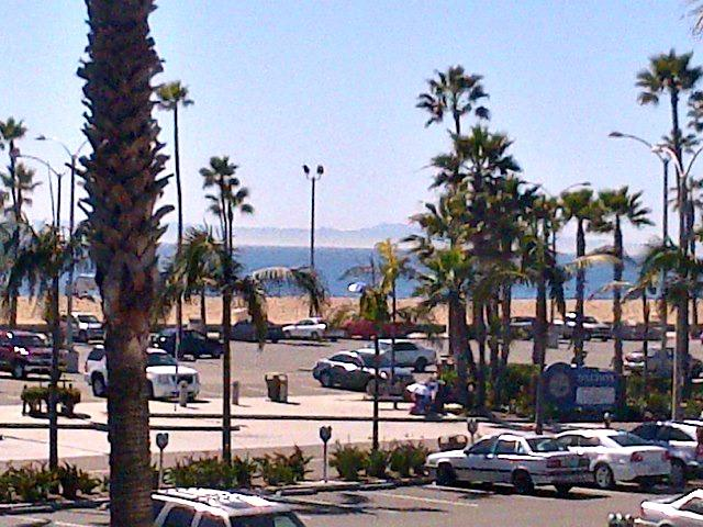 Catalina View From Balcony - BeachFront and Boardwalk - Luxury 3 Bedroom 2 Bathroom Condo - Newport Beach - rentals