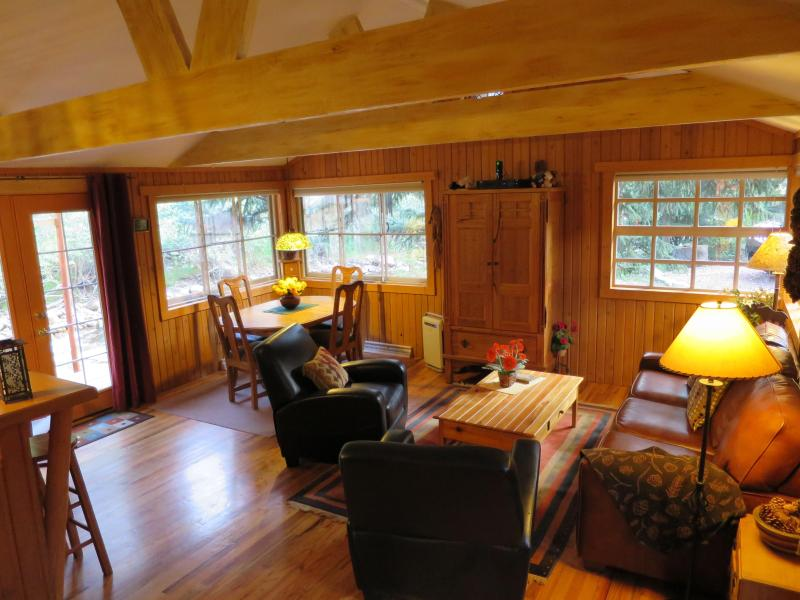 Living-room & bar - A River Bend retreat - Estes Park - rentals