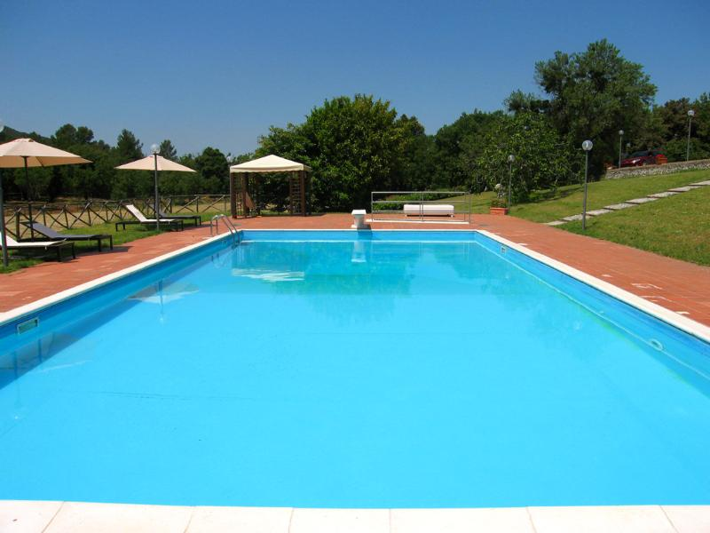 Villa Vallocchia : Large pool with diving board + sound system - VILLA VALLOCCHIA/SLEEPS 14 - 3 mls/Spoleto centre - Spoleto - rentals