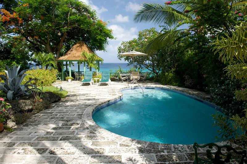 Senderlea at Derricks, Barbados - Beachfront, Pool, Oceanfront Gazebo - Image 1 - Saint James - rentals