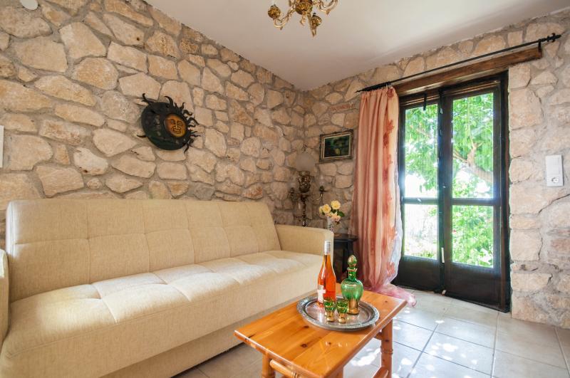 Neda stone maisonette overlooking Ionian sea - Image 1 - Kiparissia - rentals