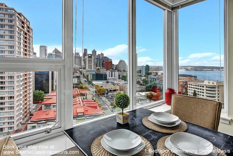 1 Bedroom Glimmerng Skyline and Water View Oasis - Image 1 - Seattle - rentals