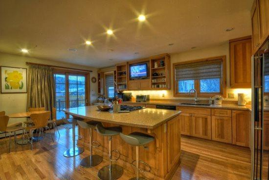 Very Large Kitchen, Fully Equipped and Open - Seventh Heaven Chalet - Steamboat Springs - rentals