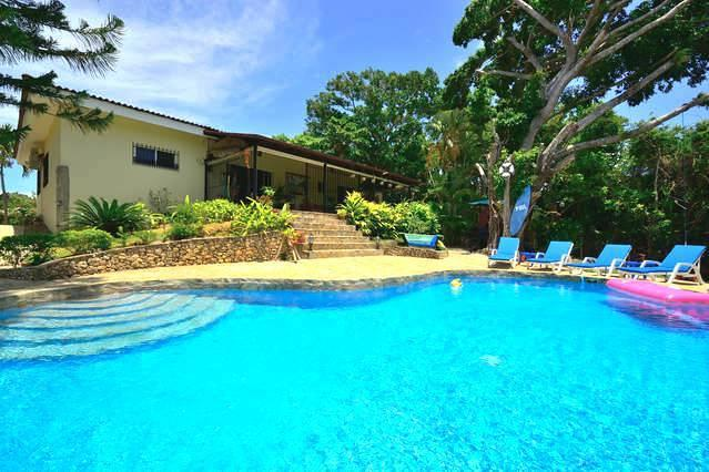 Back of Spacious 3 Bedroom Villa, Covered Terrace and Swimming Pool - Perfect and Unforgettable 3 Bedroom Villa for You, - Sosua - rentals