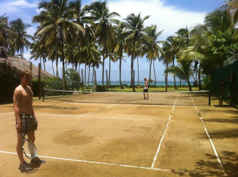 Private tennis court - Boutique Style on Beach,  Beach House Walrus - Las Terrenas - rentals
