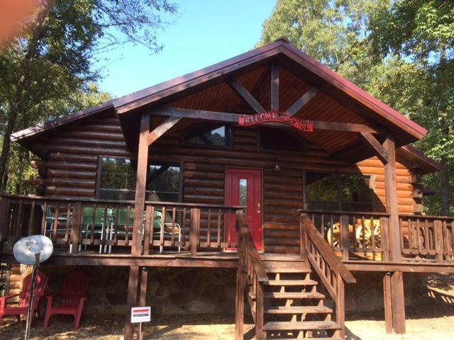 Front - Secluded Privacy - Broken Bow Lake / Beavers Bend Cabin Rental - Broken Bow - rentals