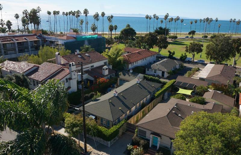East Beach Cottages - Steps From The Beach: Two Bedroom Santa Barbara cottage with ocean views - Santa Barbara - rentals