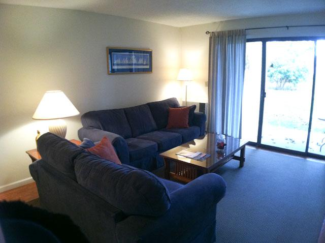 Living Room - Ocean Edge: St.  Level 2 BR, 2 Bath (sleeps 5), 2 A/C's w/pool (fees apply) - EA0115 - Brewster - rentals