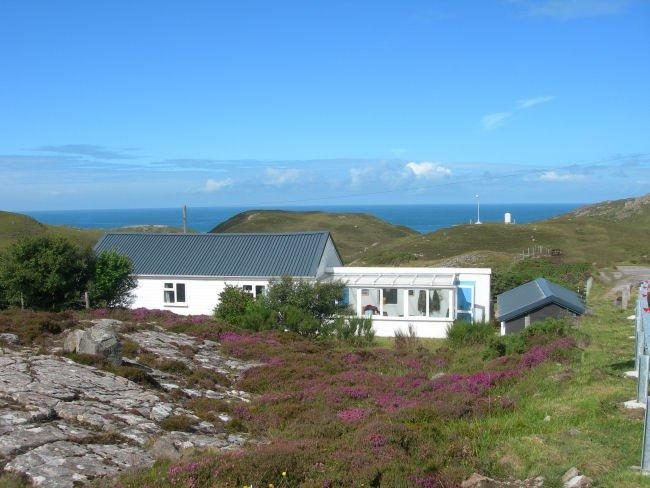 View towards the property - SU164 - Scourie - rentals