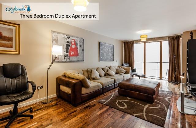 Grand Canal Three Bedroom Duplex Apartment - Image 1 - Dublin - rentals