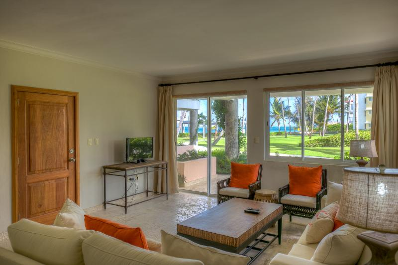 Stylish Oceanview 3 Bedroom Apartment T-F101 - Image 1 - Bavaro - rentals