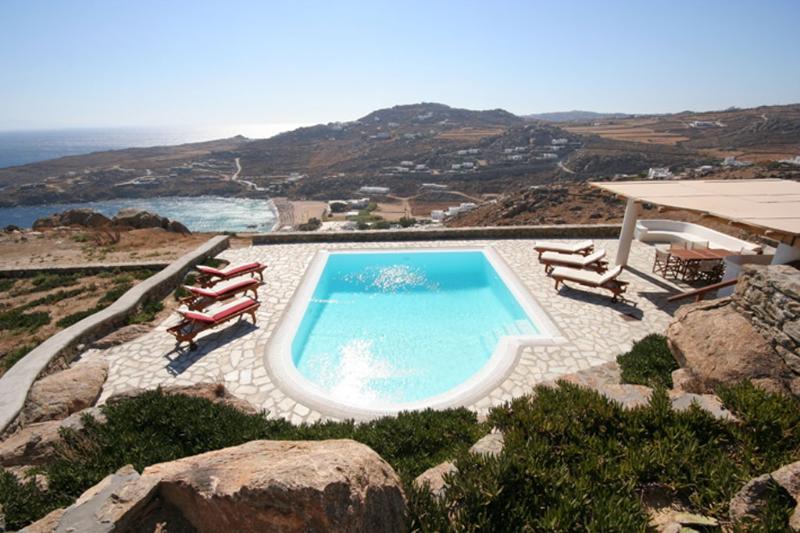 Nephele Villa - overlooking Super Paradise beach - Image 1 - Mykonos Town - rentals
