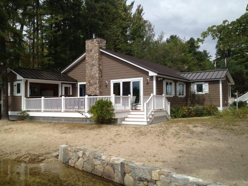 Waterfront Heaven - Luxury home with guest house and kid`s cave! - Image 1 - Ossipee - rentals