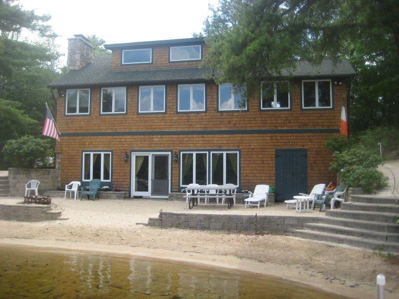Waterfront Home on Broad Bay - Sandy Beach, Boat Dock, A/C - Image 1 - Ossipee - rentals