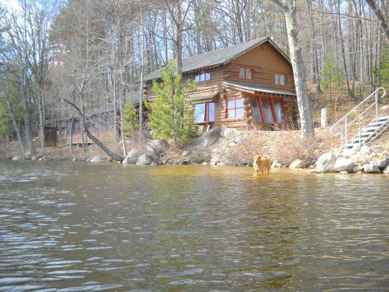 Waterfront Log Home on Pea Porridge Pond - Image 1 - Madison - rentals