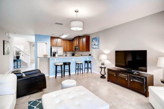 5 bedroom 3 King Master Suites, Pool, Spa and Movie Theatre. 1038CPB - Image 1 - Orlando - rentals