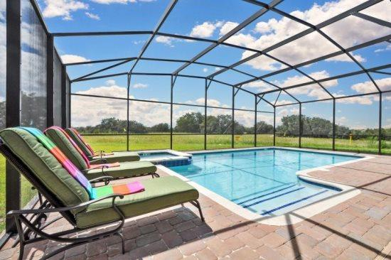 Brand New Luxury 8 Bedroom Pool Home With Movie Theatre. 2257VD - Image 1 - Orlando - rentals
