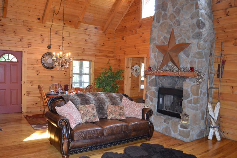 Living Room - Hocking Hills Dreamscape Hideaway - Logan - rentals
