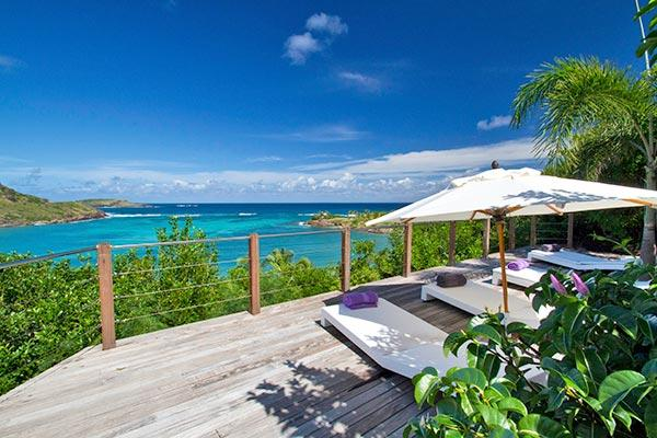 Impressive villa offering breathtaking views WV IND - Image 1 - Saint Barthelemy - rentals
