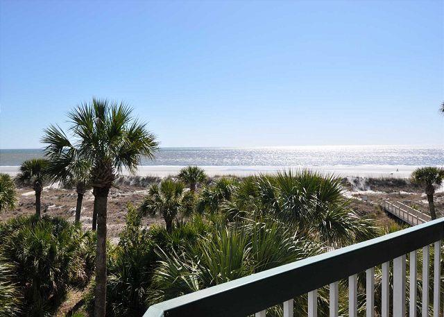View - 312 Barrington Court - Beautiful 3rd Floor Oceanfront Villa! - Hilton Head - rentals