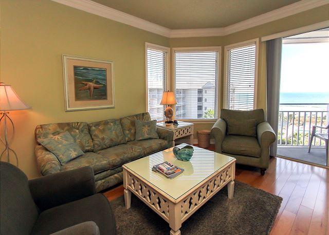 Main Living Area - 1505 SeaCrest - NO LONGER AVAILABLE FOR RENT - Hilton Head - rentals