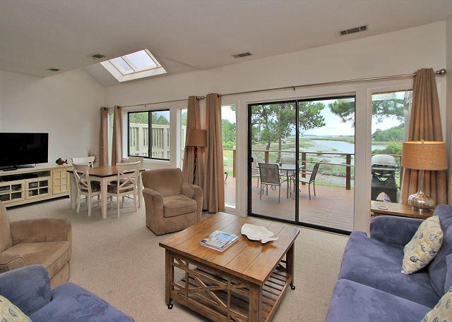 Main Living Area - 3 Braddock Cove Club-Beautiful View of Braddock Cove and so much - Hilton Head - rentals