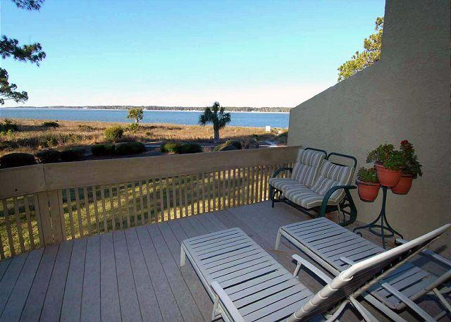 View - 1457 Sound Villas - This very spacious waterfront villa has two living areas, - Hilton Head - rentals