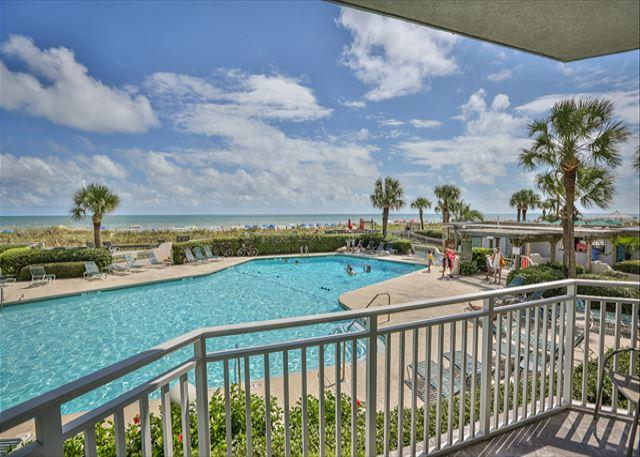 SeaCrest Pool - 1305 SeaCrest -3rd Floor OCEANVIEW and Recently Updated - Hilton Head - rentals