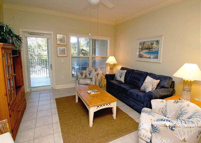 104 NorthShore Place- 2 Bedroom Villa just 100 Yards to the Beach! - Image 1 - Hilton Head - rentals