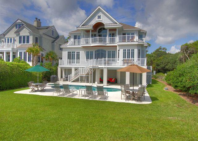 Exterior - 33 Dune Lane- Oceanfront & Beautiful! - Hilton Head - rentals