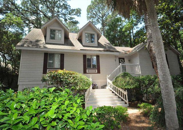 Exterior - 169 Mooring Buoy - 5th Row Low Country Beach Home w/ Pool & Spa - Hilton Head - rentals