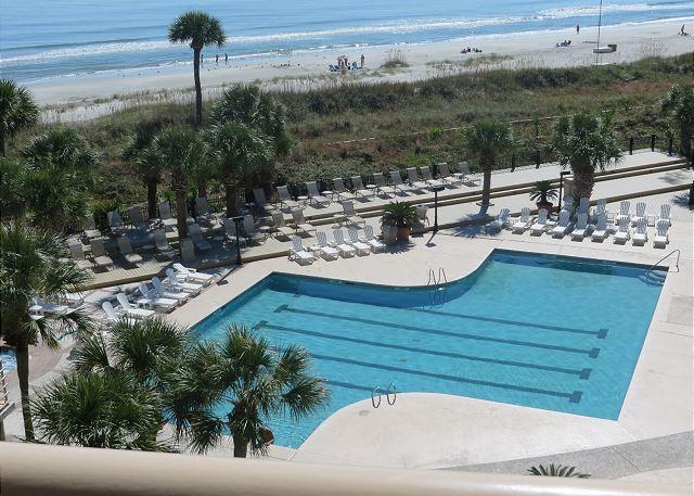 View - 1502 Villamare - 5th Floor & oceanview - $200 OFF 4/25-5/1 week - Hilton Head - rentals