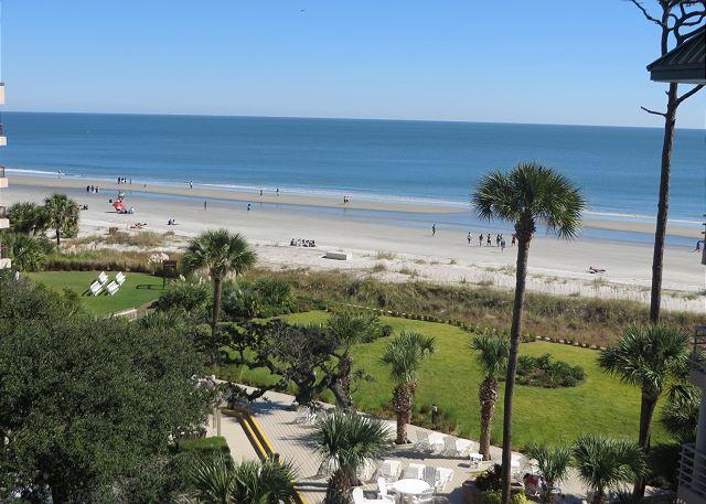View - 1508 Villamare-th Floor with STUNNING Ocean Views-TopNotch Amenities On Site - Hilton Head - rentals