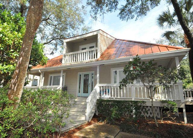 Exterior - 15 Avocet Street- 4 Bedroom Home w/ Pool & Spa- FREE Pool/Spa Heat for Spring - Hilton Head - rentals