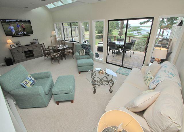 Main Living Area - 2 Braddock Cove Club - View, Views, Views. - Sea Pines - rentals