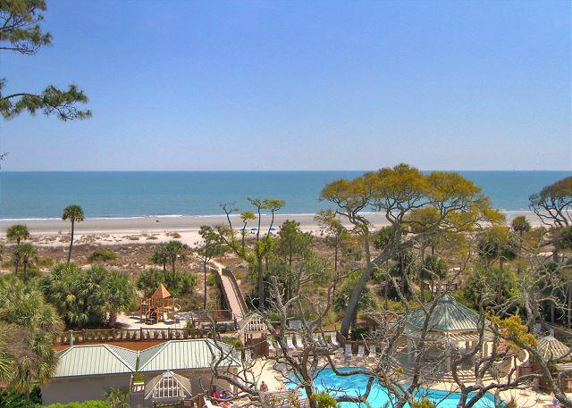 View - 4506 Windsor Court - 5th Floor - Serenity at its best.  Direct Oceanfront. - Hilton Head - rentals