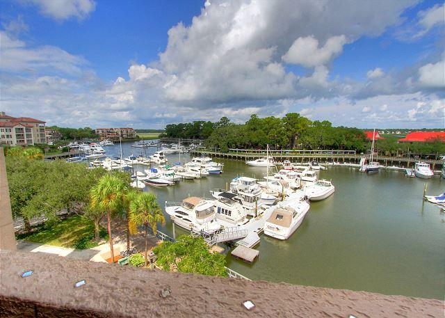 View - 7169 Harbourside II - Gorgeous views of Shelter Cove Marina & Broad Creek - Hilton Head - rentals