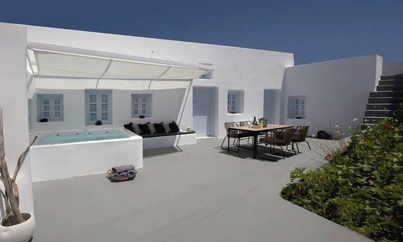 Exterior - Blue Villas | Anemolia | Private villa - Megalochori - rentals