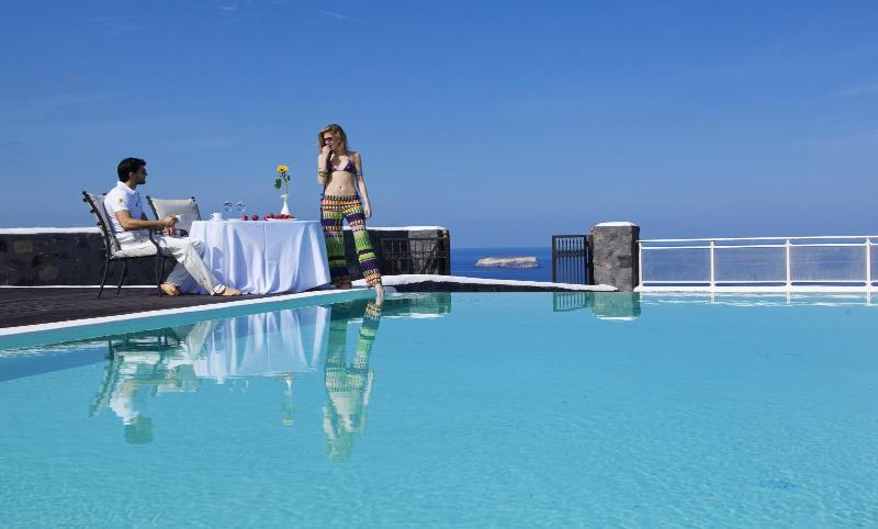 Blue Villas | Dimitra |Superb caldera view - Image 1 - Megalochori - rentals
