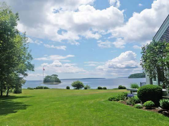 The view from the property looks all the way down Penobscot Bay - ROCKY POINT ESTATE - Town of Stockton Springs - Stockton Springs - rentals