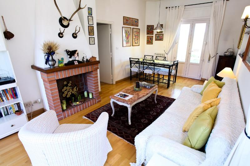 The living room - Sunny apartment with Pool and whirlpool - Rome - rentals