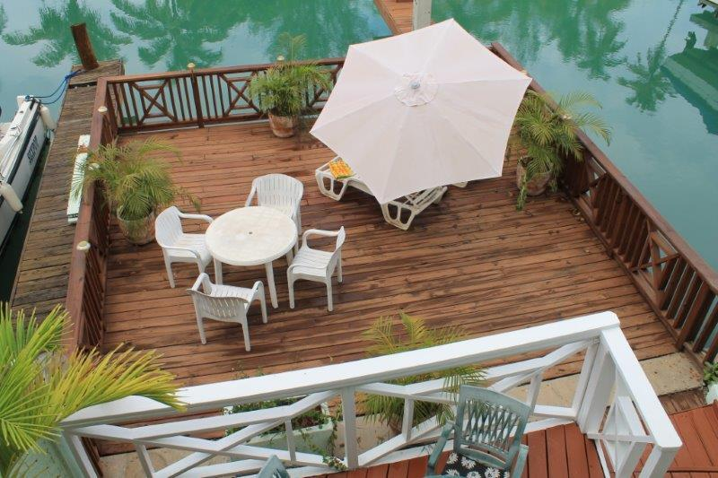 Patio - Villa 251B South Finger, Jolly Harbour - Jolly Harbour - rentals