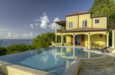 4 Bedroom Villa with Pool & Ocean View in Smugglers Cove - Image 1 - Tortola - rentals