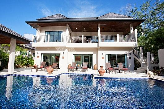 Villa Waew Opal - 6 Bed - Grand Property with In-House Staff - Image 1 - Kata - rentals