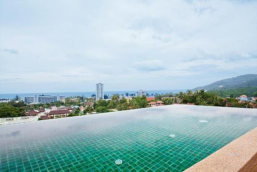 Hillside 3 bed sea view villa in Karon - Image 1 - Karon - rentals
