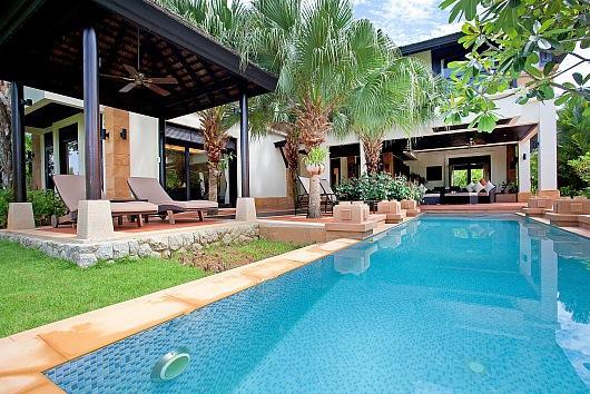 Stunning villa with sea views at Rawai - Image 1 - Thalang - rentals